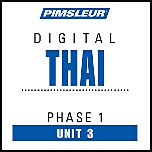 Thai Phase 1, Unit 03 Audiobook