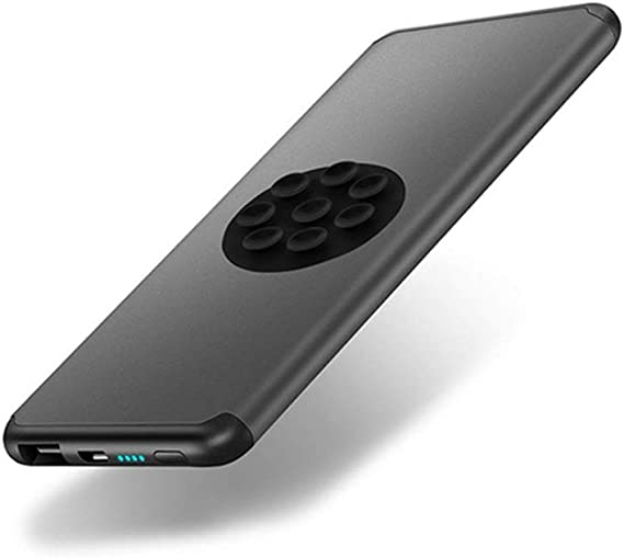 SZKQN - Cargador de teléfono inalámbrico de 5000 mAh, Cargador de teléfono portátil Dual USB de Carga rápida, batería Externa ultracompacta, Cumple con Las Normas de aviación, para Smartphone: Amazon.es: Electrónica