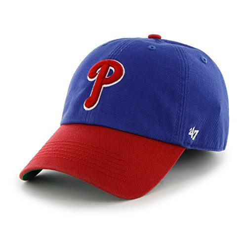 MLB Philadelphia Phillies Franchise Fitted Hat, Royal, Large