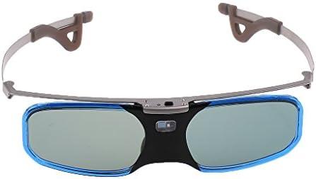 Gazechimp Gafas 3D DLP Link Bluetooth Accesorios para Proyector ...