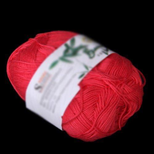 SODIAL(R) Tencel Bambu Hilados De Algodon Para Bebes - Rojo: Amazon.es: Hogar