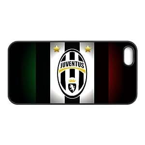 De pl¨¢stico duro caso para Iphone 5 5s cubierta de la impresi¨®n JuventusE-5918