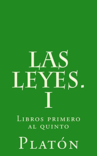 Las leyes. I (Spanish Edition) eBook: Platón, Patricio de Azcárate: Amazon.com.br: Loja Kindle