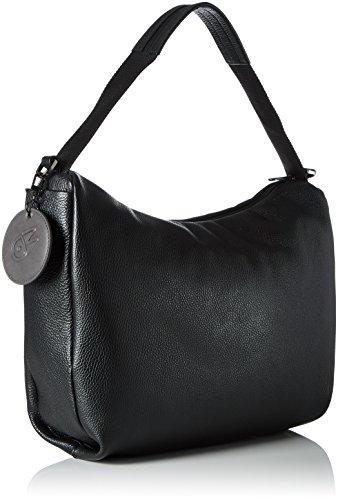 Mandarina hombro Nero de Duck Tracolla Bolso Mellow Mujer Leather Negro 1q1Bwr6