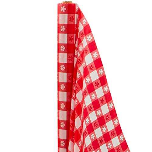 Amscan Gingham Check Printed Party Table Roll, 40