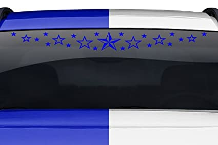 #102-01 STARDUST Windshield Decal Window Sticker Vinyl Graphic Stars Car Banner