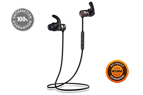 Wireless Headphones, MiS LifeStyle | Sports Headphones, Magnetic Earbuds 9.5 Hours, Bluetooth Headphones with Mic, Headphones Aptx, Sweat Proof Earbuds for Apple, Samsung, Android, Galaxy