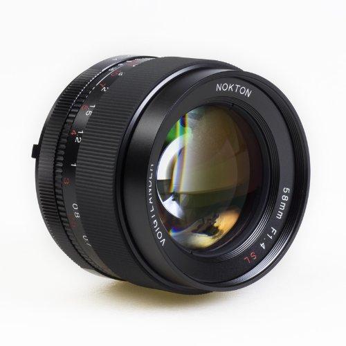 Voigtlander Nokton 58mm f/1.4 SL-II N Manual Focus - Voigtlander Nikon Lens