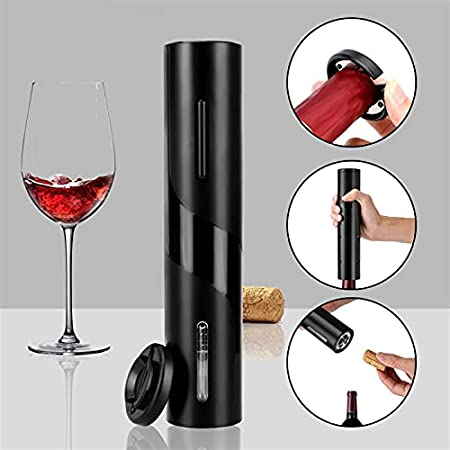 Abridor Botellas Herramientas de la herramienta de la herramienta de la cocina del sacacorchos automáticos Herramientas de la barra de la botella de vino eléctrico abridor de la embarcación para el ab