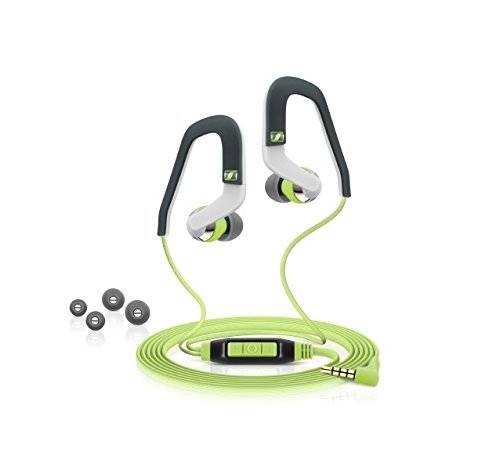 Sennheiser Sport Ear-Hook Earbud Headphones Green/White/Gray OCX 686G SPORTS