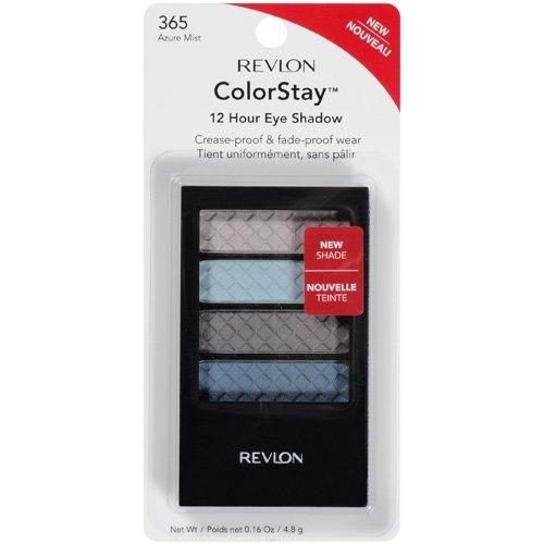 Revlon ColorStay Eye Shadow, 12 Hour, Azure Mist 365