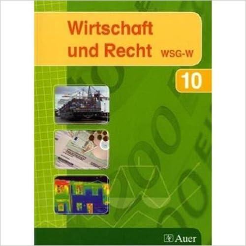 Wirtschaft und Recht 10 WSG-W