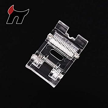Hongma Prensatela de Máquina de Coser con Rodillo para Coser Cuero Tela Grueso: Amazon.es: Hogar