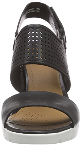 Escarpins Femme Black Pastina Malory Leather Noir Clarks qazE0