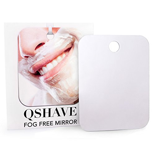 QSHAVE Fogless Shower Mirror