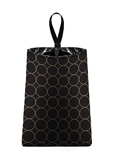 - The Mod Mobile Auto Trash (Black and Taupe Rings) by car trash bag litter bag garbage can for your automobile