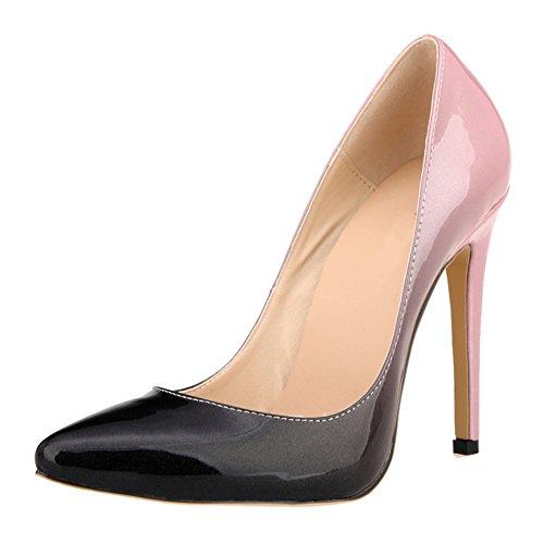 Pointu Talons Couleur hauts Pente Shoes Club Meijunter Pompes Femmes Stilettos Party Chaussures 7g6wTZ