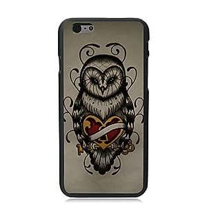 ZXSPACE Unique Owl Design PC Hard Case for iPhone 6