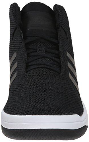 Adidas Veritas Mid runde Toe synthetische Turnschuhe Schwarz
