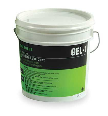 Cable-Gel Cable Pulling Lubricants Style: Cap. Vol.:1gal, Pkg Bucket, Price for 1 Gallon (Greenlee Gel)
