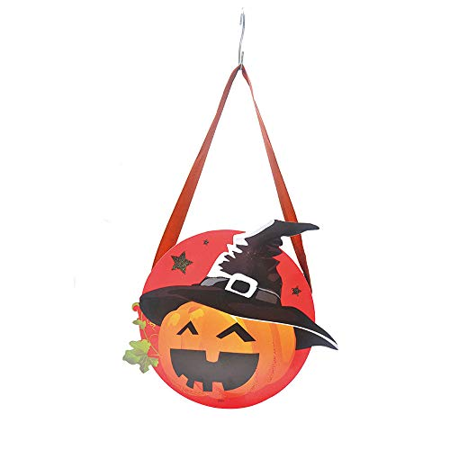 Meka-supplies - 1PCS Halloween Candy Bag Halloween Pumpkin Bag Trick or Treat Bags Sacks Handbag Gift Bag Party Supplies Decor