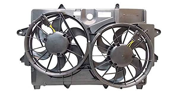 Sunbelt Radiator And Condenser Fan For Ford Escape Mercury Mariner FO3115159 Drop in Fitment