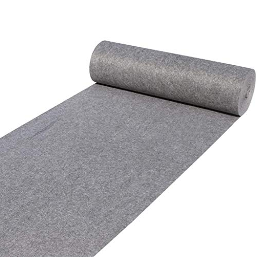 (Gray Wedding Runners Acrylic Aisle Runner for Indoor and Outdoor, Runner Rugs 78 Mil Thick (Size : 1100m) )