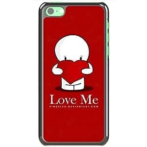 Apple iphone 4s Case EMO Love Love Me Normal Love Black