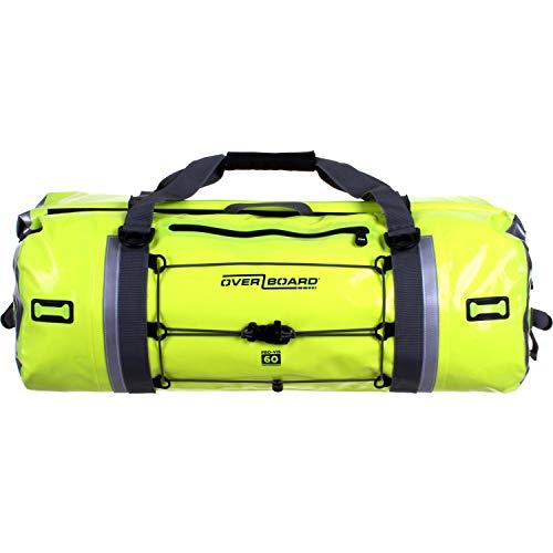 OverBoard Waterproof Pro-Vis Duffel Bag, Yellow, 60-Liter