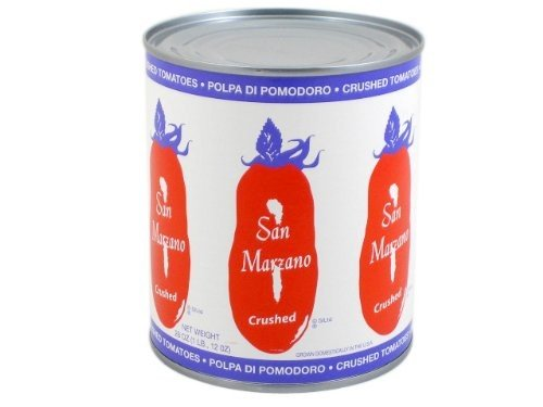 San Marzano Tomatoes Crushed 28 Oz - Pack Of 12 (Best Canned Crushed Tomatoes)