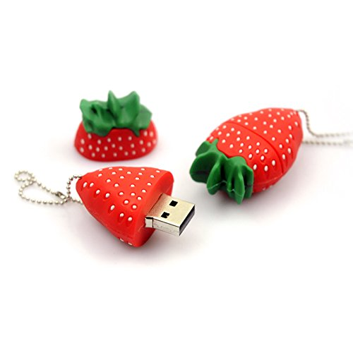 Generic USB Flash Strawberry Pen Drive