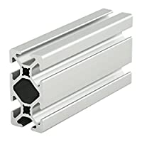 "80/20 Inc., 1020-S, 10 Series, 1"" x 2"" Smooth T-Slotted Extrusion x 96.5"" by 80/20 Inc."