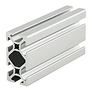 "80/20 Inc., 1020-S, 10 Series, 1"" x 2"" Smooth T-Slotted Extrusion x 18"" by 80/20 Inc."