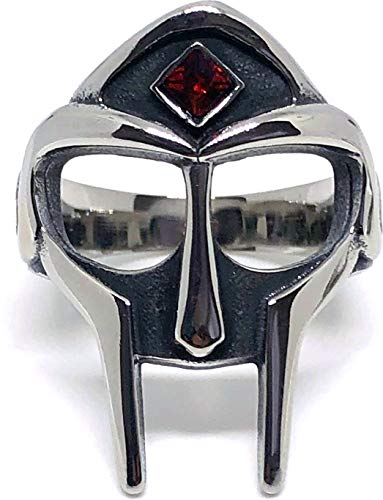 MF Doom Mask Ring Gem (10)