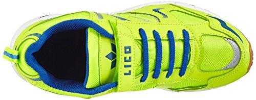 Lico LicoBernie Vs - Zapatillas Deportivas Para Interior Niños Amarillo - Gelb (neongelb/blau)