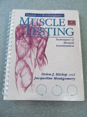 Daniels and Worthingham's Muscle Testing: Techniques of Manual Examination by Helen J. Hislop - Montgomery Shopping Mall