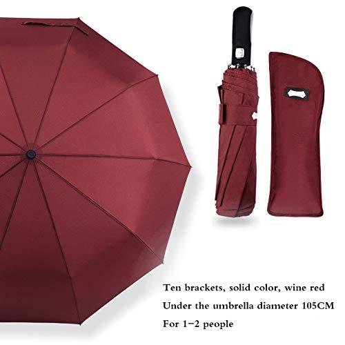 Aione Paraguas Plegable Reversible Compacto del Paraguas del ...
