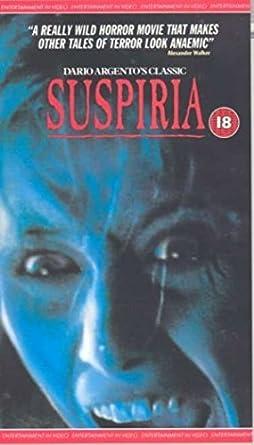 Suspiria [Reino Unido] [VHS]: Amazon.es: Cine y Series TV