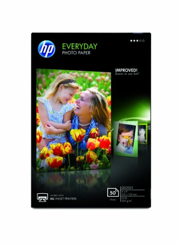 Paper Everyday Photo Glossy - HP Everyday Photo Paper, Glossy (4x6