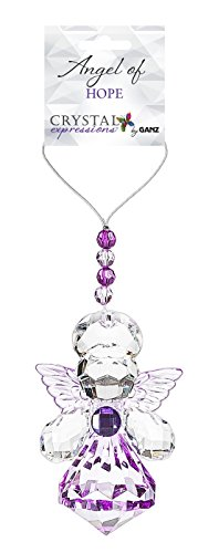 Crystal Expressions Angel Ornament - (Crystal Angel Charm)