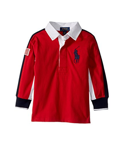Lauren Long Sleeve Jersey - RALPH LAUREN Polo Boys Long Sleeve Cotton Rugby Shirt (7)