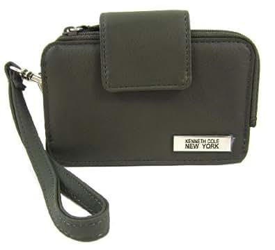 Kenneth Cole Reaction Dark Olive Tab Card Case Wristlet