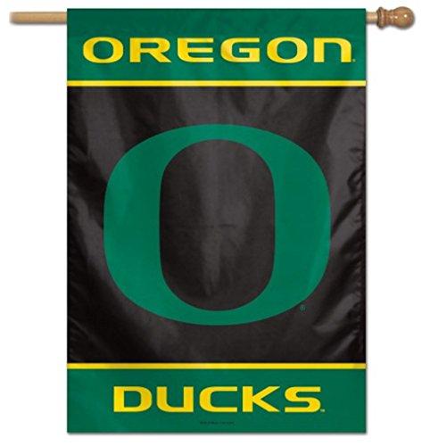 WinCraft NCAA Oregon Ducks 28x40 Inch Outdoor Vertical Flag Banner by WinCraft