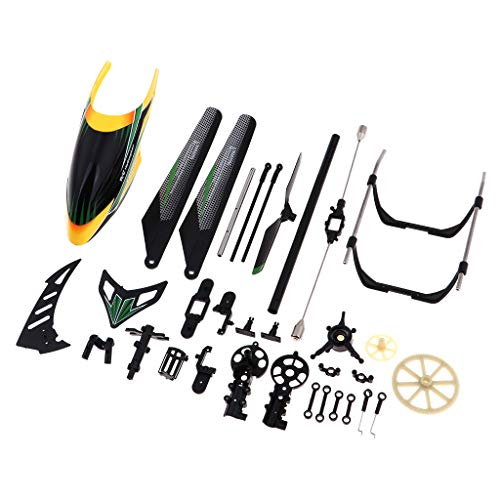 Bonarty 18 in 1 Plane Body Spare Parts for WLtoys V912 Brushless RC Helicopter Model