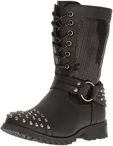 12e104d7845 Shopping Combat - Amazon.com - Zip - Boots - Shoes - Girls ...