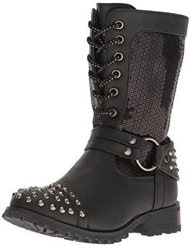 Gia-Mia Dancewear Kids' Big Girl's Chic Combat Boot