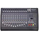 Seismic Audio - LandSlide-12P - 12 Channel DSP Professional Powered Mixer - Power