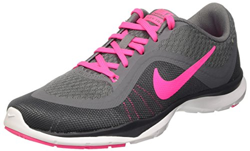 Blst Gry anthrc Para Gry Trainer Wmns Pnk 6 Zapatillas Mujer cl Nike De Flex Gimnasia drk Gris O0Z1aaf