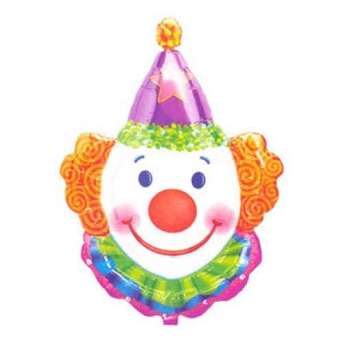 Clown Balloon - Juggles (1/pack) by Bargain (Balloon Bargain)
