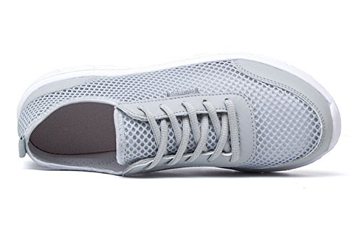 Mens Water Shoes Athletic Sport Lightweight Walking Shoes Grey uKanaYRf